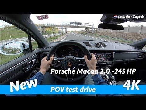 Porsche Macan 2019 - POV Test Drive In 4K | 2.0 - 245 HP