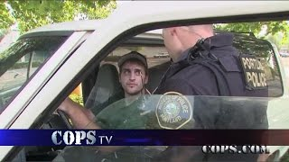 Smack In The Safe, Officer Michael Roberts, COPS TV SHOW