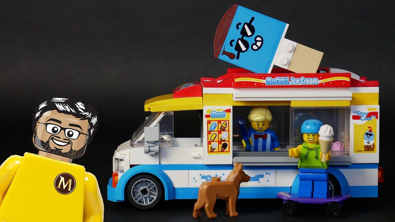 LEGO City 60253 - le Camion de Glaces - Le test en Français