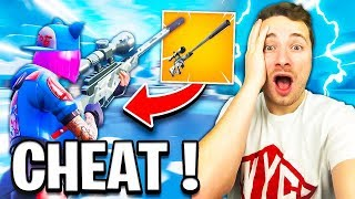 *NEW* LE NOUVEAU SNIPER SILENCIEUX TROP COOL sur FORTNITE BATTLE ROYALE !!!