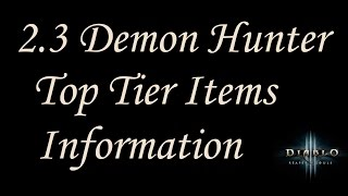 2 3 useful demon hunter items and cube combinations diablo 3 reaper of souls