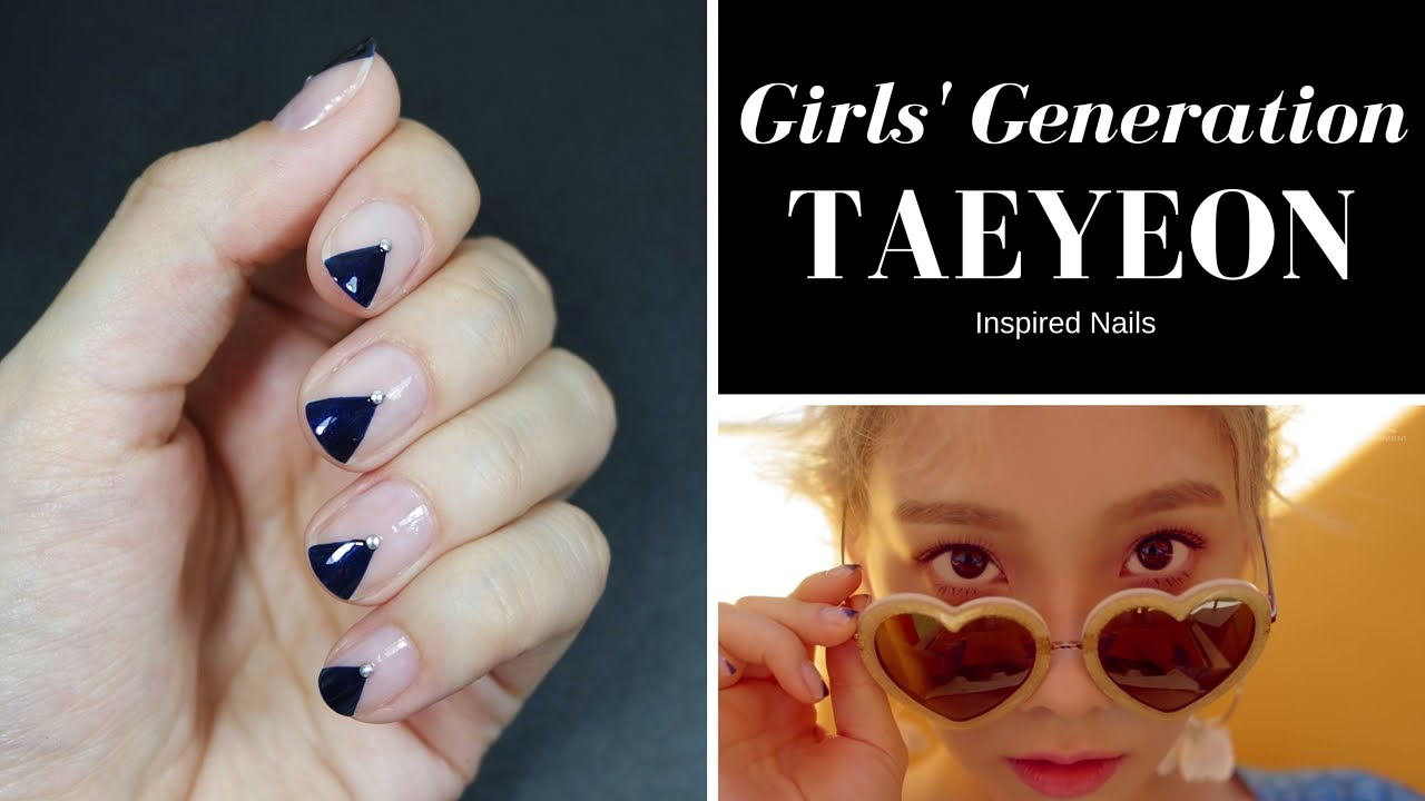 Girls\u0027 Generation TAEYEON \u0027Starlight / Why\u0027 Inspired Nails