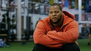 Ndamoukong Suh Lifts Against Mike Martin | American Muscle