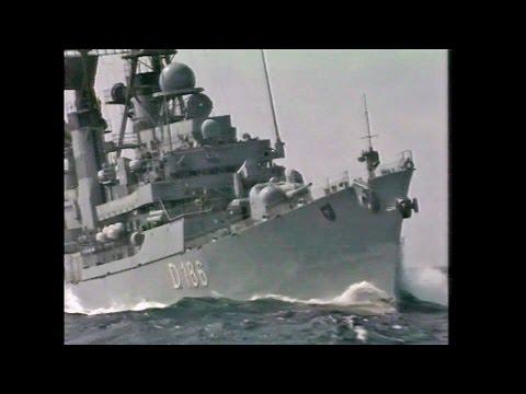Zerstörer Mölders - Einsatz im Atlantik