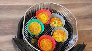 Omelete Light na Airfryer | Cozinhando com Criatividade