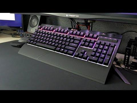 Corsair K70 RGB MK 2 Mechanical Gaming Keyboard review: quietest