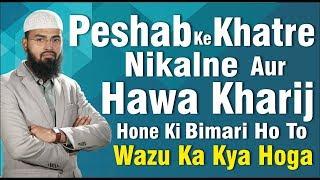 Peshab Ke Khatre Nikalne Aur Hawa Kharij Hone Ki Bimari Ho To Wazu Ka Kya Hoga By @Adv. Faiz Syed