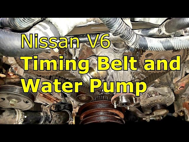 Nissan Frontier 3 3l Timing Belt And Water Pump Replacement