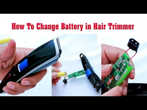 How to change battery in nova NHT 1085 Hair trimmer Charging Backup Problem Solved