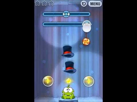 how to complete cut the rope magic 1-15