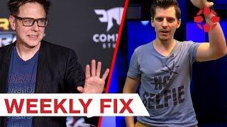 Kirúgták A galaxis őrzői 3. rendezőjét - IGN Hungary Weekly Fix (2018/30. hét)