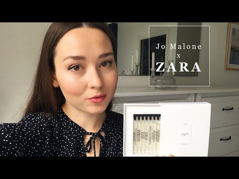 Jo Malone X ZARA / Обзор линейки ароматов Zara Emotions By Jo Loves