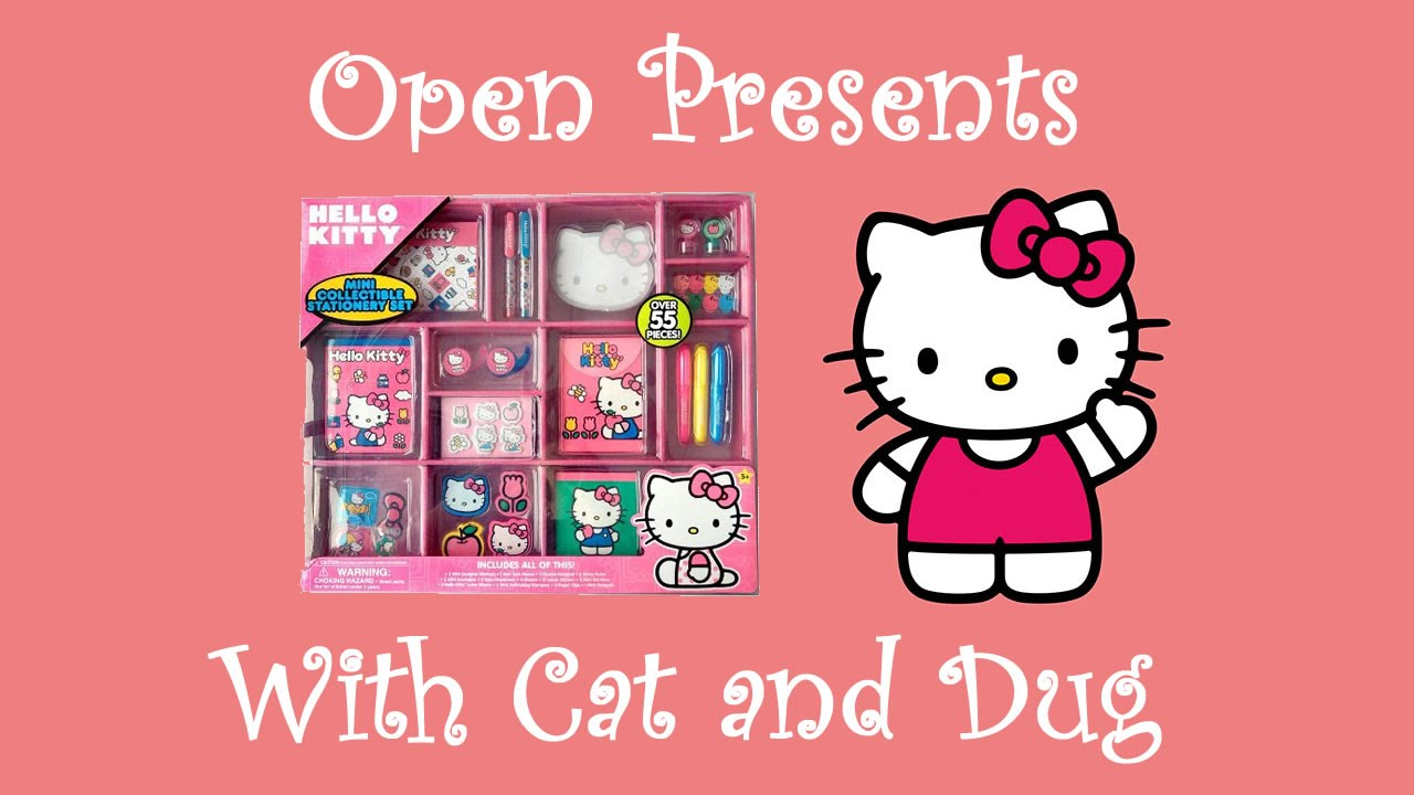 hello kitty kids stationary set youtube