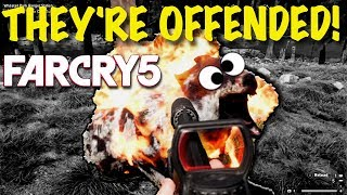 """THEY'RE OFFENDED! - OUTRAGE at FAR CRY 5's first """"Live Event""""… LOL!"""