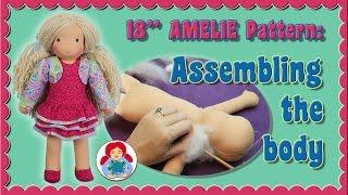 "DIY | Assembling the body of 18"" Sami Doll Pattern AMELIE • Sami Doll Tutorials"