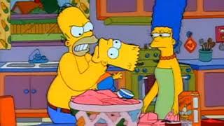 I Simpson ITA - Homer indossa una camicia rosa
