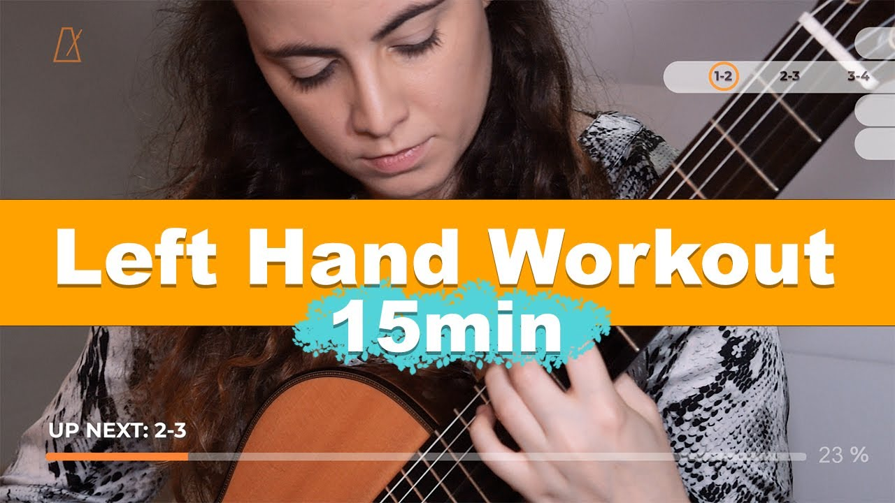 4 DAILY EXERCISES to develop a great LEFT HAND!