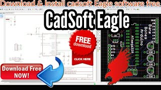 Download lagu How to Free download & Install cadsoft Eagle software(5.7) PCB design