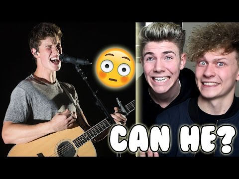 SHAWN MENDES CAN´T SING !!! Reaction