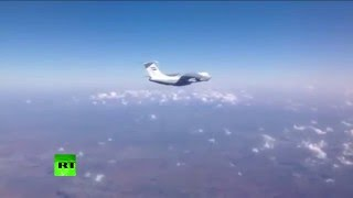 Syria aid drop: 1st Russian air force humanitarian mission