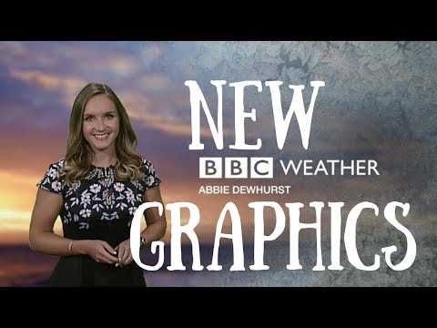 NEW BBC WEATHER GRAPHICS | Confessions Of A Weather Girl