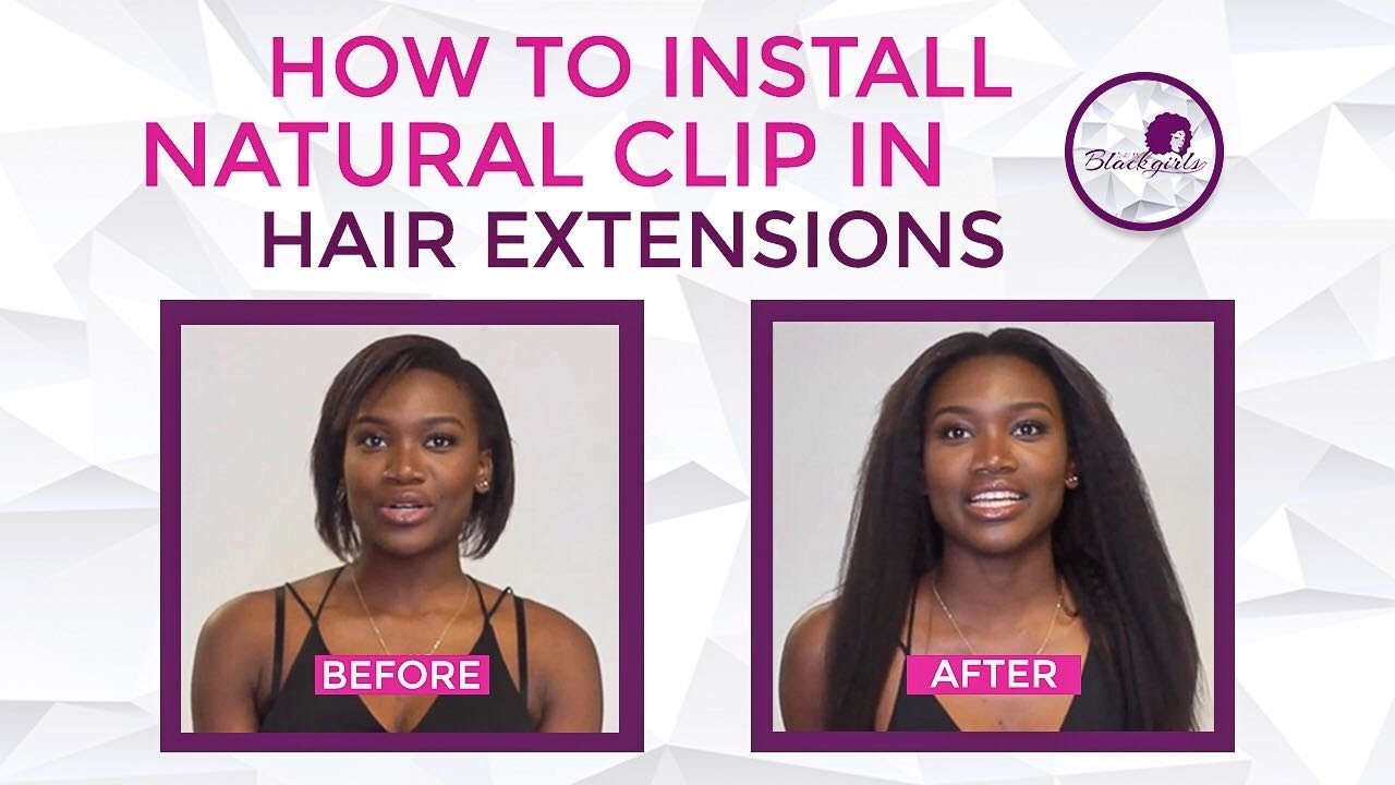 How to install natural clip in hair extensions youtube how to install natural clip in hair extensions pmusecretfo Image collections