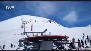 Failure of a ski lift in Georgia