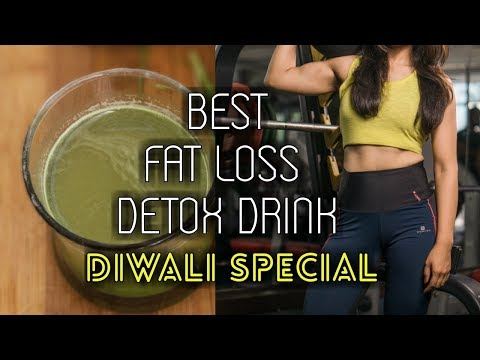 How To Lose Weight For Diwali  without workout// Special Detox Drink /Mukti  Gautam