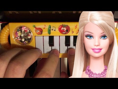 BARBIE GIRL... but it's played on a $1 piano