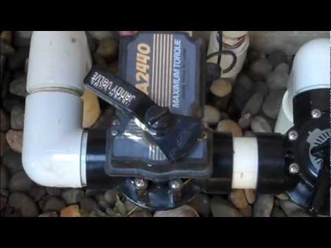 Swim Mor Pools And Spas Valve Actuator Instructions And
