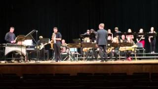 High School Jazz Band playing Vamoose Your Caboose at Jazz