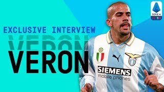 La Brujita! | Juan Sebastian Veron | Exclusive Interview | Serie A