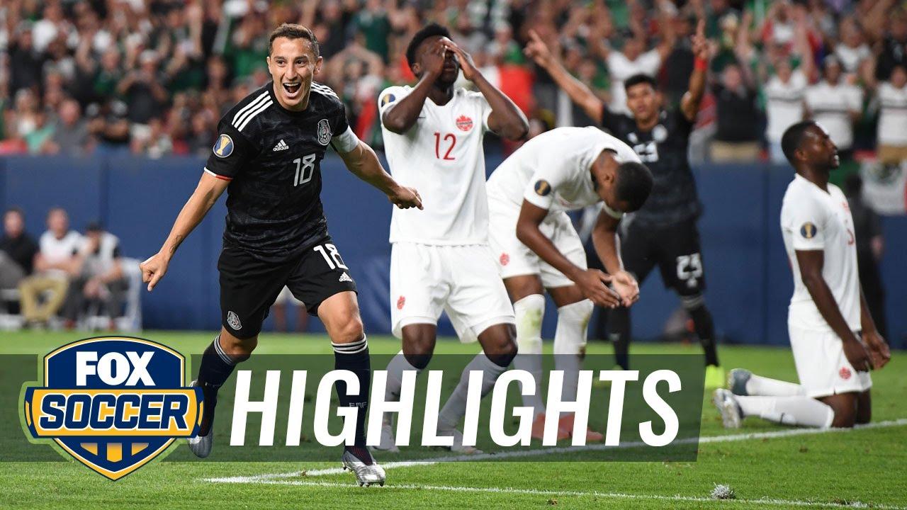 Mexico beat Martinique to reach Gold Cup quarter-finals