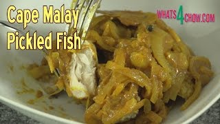 Cape Malay Pickled Fish - Traditional Cape Town Kerrie Vis, A Delicious Summer Meal!!!