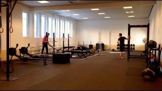New gym on KI Campus Huddinge