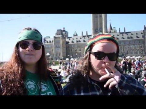 Stoner Survey Parliament Hill Ottawa 4/20