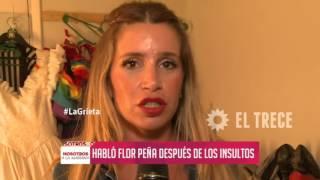 ¡Habló Florencia Peña tras los insultos por su polémico tweet!
