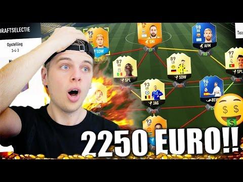 €2250 FIFA 17 TEAM!! DUURSTE TEAM CHALLENGE!