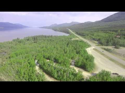 Teslin Lake Campground, Yukon, Canada