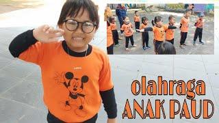 Olahraga Anak Paud Belajar outdoor anak paud Senam sehat gembira Daily Routine Gysel senam anak