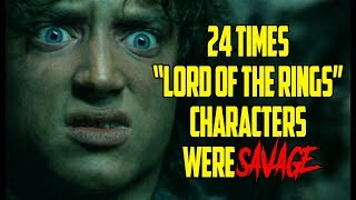 """Video 24 Times """"Lord Of The Rings"""" Characters Were Savage download MP3, 3GP, MP4, WEBM, AVI, FLV Agustus 2018"""