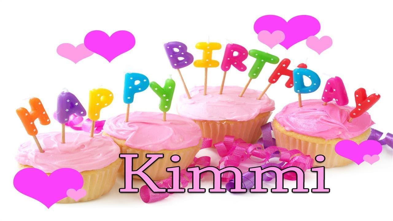 Happy Birthday Kimmi :D