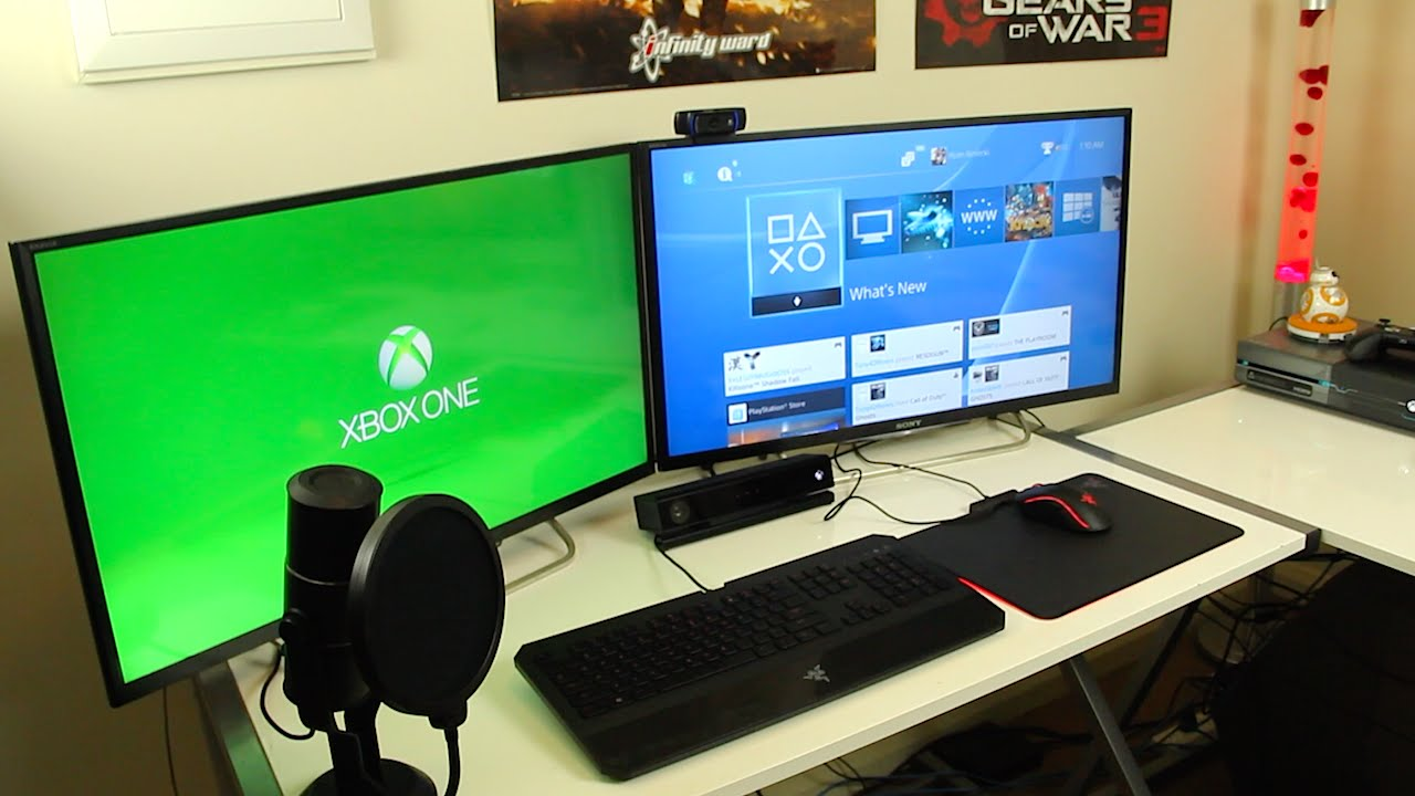 My gaming setup room tour 2016 youtube How to make a gaming setup in your room