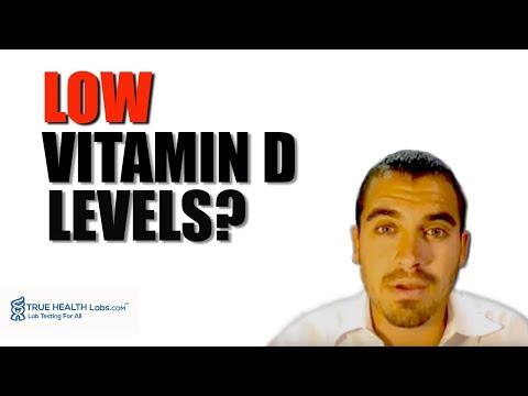 Low Vitamin D levels?