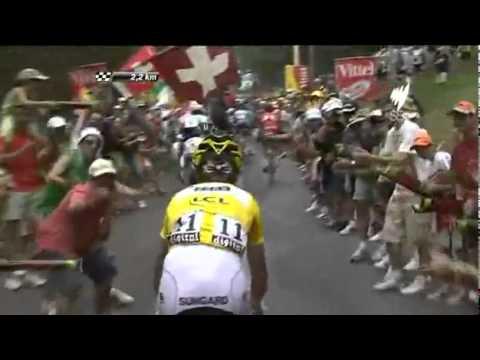 Tour de Francia 2011 - Etapa 12 Joaquim Rodriguez Vs Contador