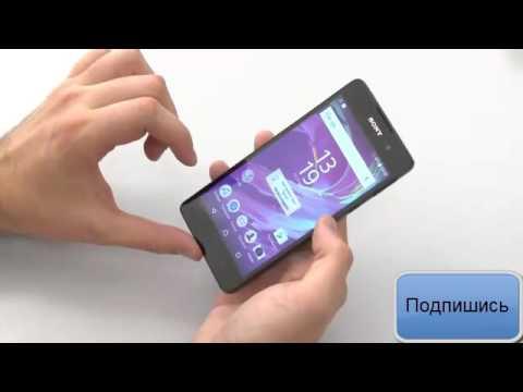 Sony Xperia M4 Aqua: предварительный обзор (preview) - YouTube