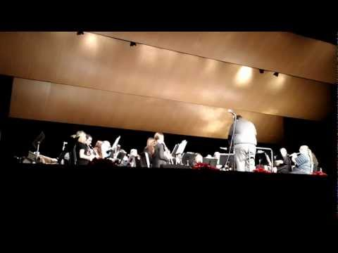 Greenfield High School, WI ~ Concert Band Christmas Concert 2012 ~ 4th Number
