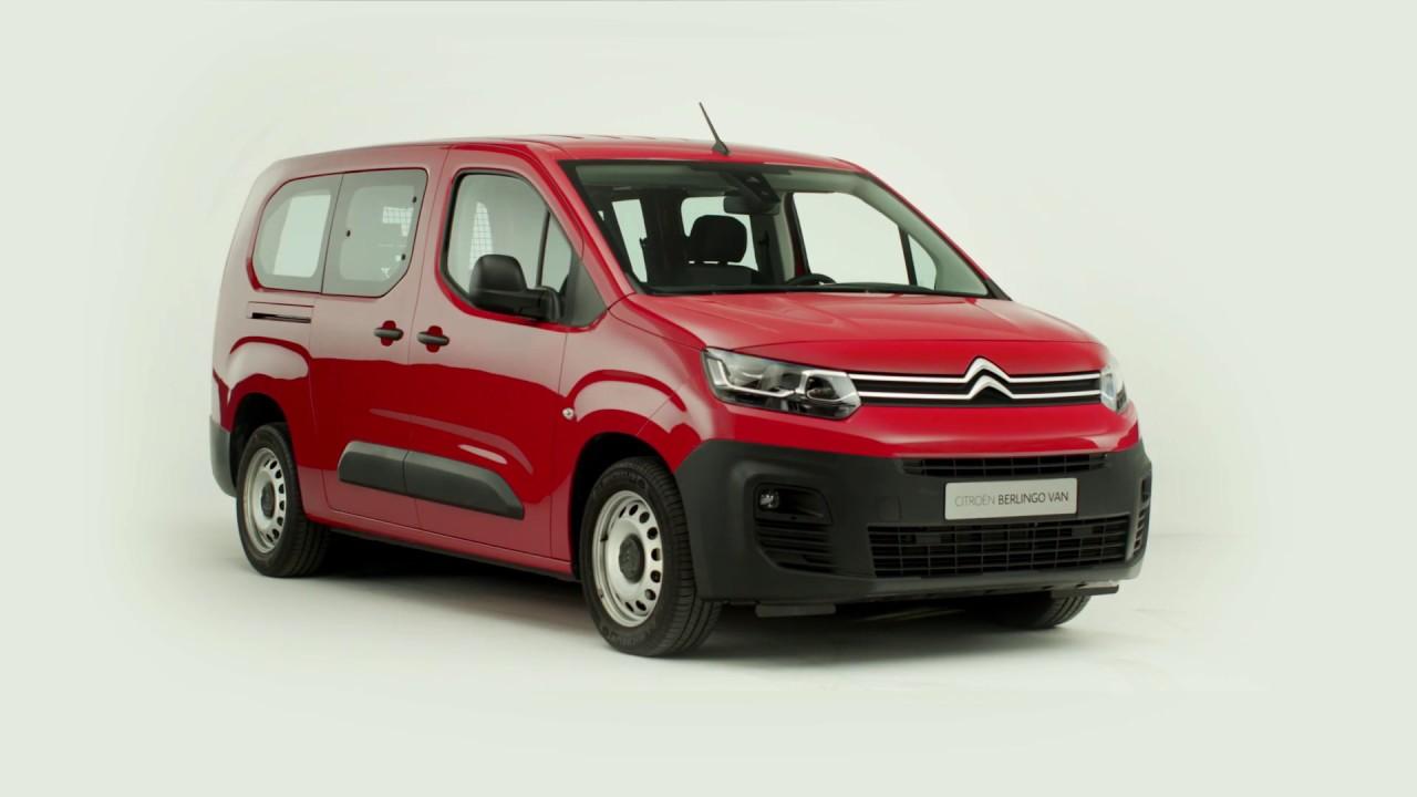 a639c1c376 New Citroën Berlingo Van   Crew Cab - YouTube