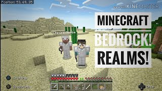 MINECRAFT BEDROCK REALMS FT CHRONICSCRIBE BUILDING A