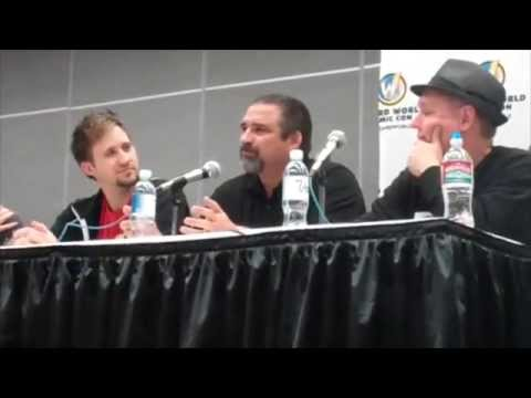 Creative Engine Panel. Wizard World COMIC CON Las Vegas 2015